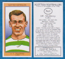 Glasgow Celtic James McGrory Scotland 1